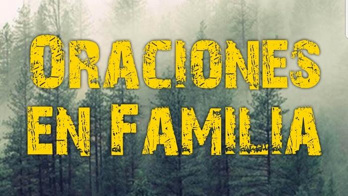 Oracion Matrimonio Catolico : Oración por la familia oraciones a dios
