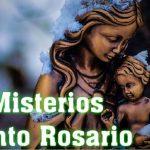 misterios del rosario lunes